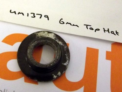Seatbelt mounting bolt spacer, 6mm top hat, Mazda MX-5, USED